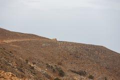 Costa rocciosa di Creta Fotografie Stock Libere da Diritti
