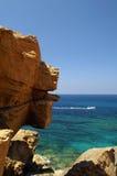 A costa rochosa. Fotografia de Stock