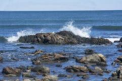 Costa rochosa, fotografia de stock