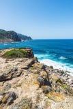Costa rochosa de Sardinia, Itália Imagens de Stock Royalty Free