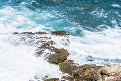 Costa rochosa de Sardinia, Itália Fotografia de Stock Royalty Free