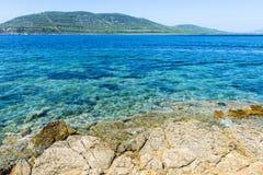 Costa rochosa de Sardinia, Itália Imagem de Stock Royalty Free