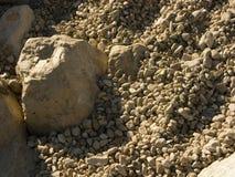 Costa rochosa do mar de adriático na Croácia Foto de Stock