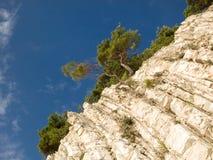 Costa rochosa do Mar Negro Fotos de Stock Royalty Free