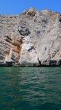 Costa rochosa no Golfo Pérsico Foto de Stock Royalty Free