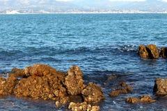 Costa rochosa no mediterrâneo Imagem de Stock Royalty Free