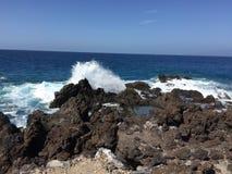 Costa rocosa Stockbild