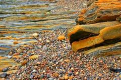 Costa rocosa Fotos de archivo