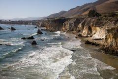 Costa rocosa de California Fotos de archivo