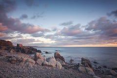 Costa costa rocosa de Kullaberg Imagen de archivo