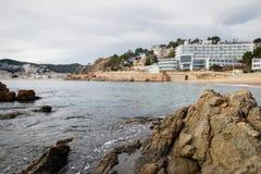 Costa costa salvaje hermosa Imagenes de archivo