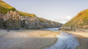 Costa scozzese fotografie stock libere da diritti