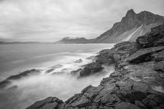 Costa selvagem islandêsa 1 imagens de stock