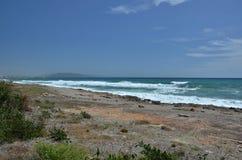 Costa selvaggia di Almeria Immagini Stock