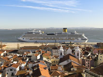 Costa Serena Cruise Ship Fotografía de archivo