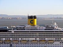 Costa Serena Cruise Ship Stock Photos