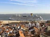 Costa Serena Cruise Ship Stock Photography