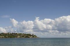 Costa siciliana Fotografia Stock Libera da Diritti
