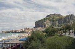 Costa siciliana Immagini Stock