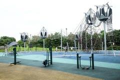 Costa Singapur de los arbolados imágenes de archivo libres de regalías