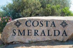 Costa Smeralda Lizenzfreie Stockfotografie