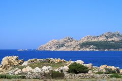 Costa Smeralda, Sardinia, Italy Stock Image