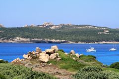 Costa Smeralda, Sardinia, Italy Royalty Free Stock Photography