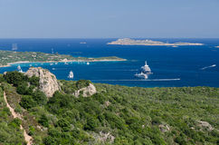 Costa Smeralda, Sardinia Stock Photography