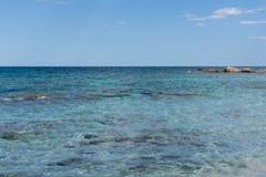 Costa Smeralda-vakantie stock foto