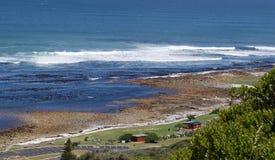 A costa solar do oceano fotos de stock