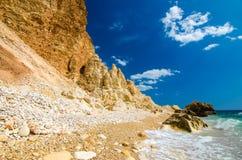 Costa soleggiata Fotografie Stock