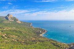 Costa sud della Crimea Fotografie Stock