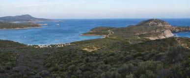 Costa sud della Sardegna Fotografie Stock Libere da Diritti
