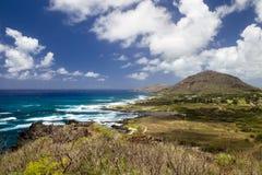 Costa sud di Oahu, Hawai Fotografia Stock Libera da Diritti