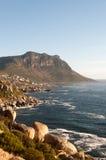 Costa sudafricana fotografia stock libera da diritti