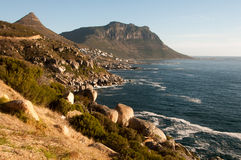 Costa sudafricana Fotografia Stock