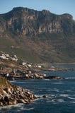 Costa sudafricana immagine stock