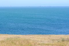 Costa sul de mar Cáspio Fotos de Stock
