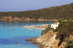 Costa sul em Sardinia Fotos de Stock Royalty Free