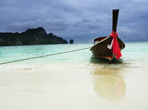 Costa tailandesa Imagens de Stock