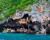 Costa tailandesa Foto de Stock
