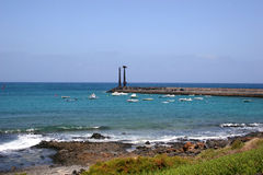 Costa Teguise Royalty Free Stock Images