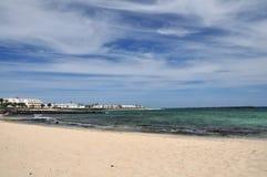 costa Teguise Zdjęcie Royalty Free