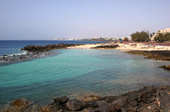 Costa Teguise, Lanzarote Stock Image
