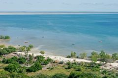 Costa tropical Fotos de archivo libres de regalías