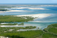 Costa tropical Imagen de archivo libre de regalías