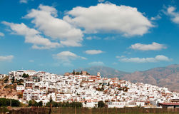 Costa Tropical, stad Salobrena, provincie van Granada, Spanje Stock Afbeeldingen