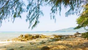 Costa tropical Tailandia del océano metrajes