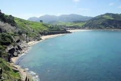 Costa Vasca Deba Royalty Free Stock Images
