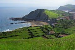 Costa Vasca near Zumaia Royalty Free Stock Photography